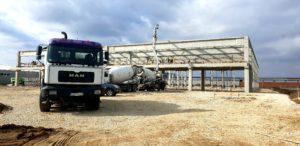 Nova hala kod Fabrike betona